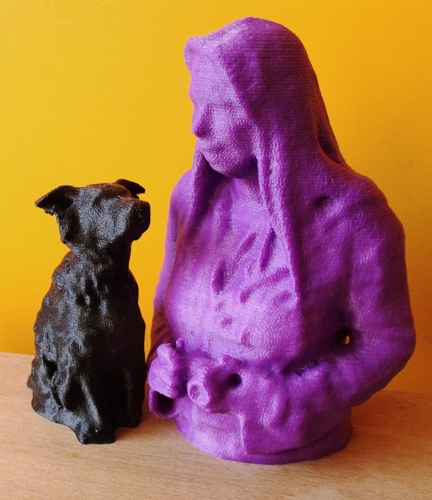 3d-prints mens hond
